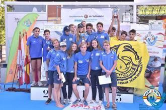 Los juveniles y junior del Alcarreño dominaron la larga distancia en el Pisuerga