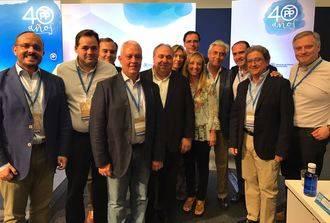 El PP de CLM muestra su apoyo al PP catalán en la reunión de Presidentes Provinciales de Palma