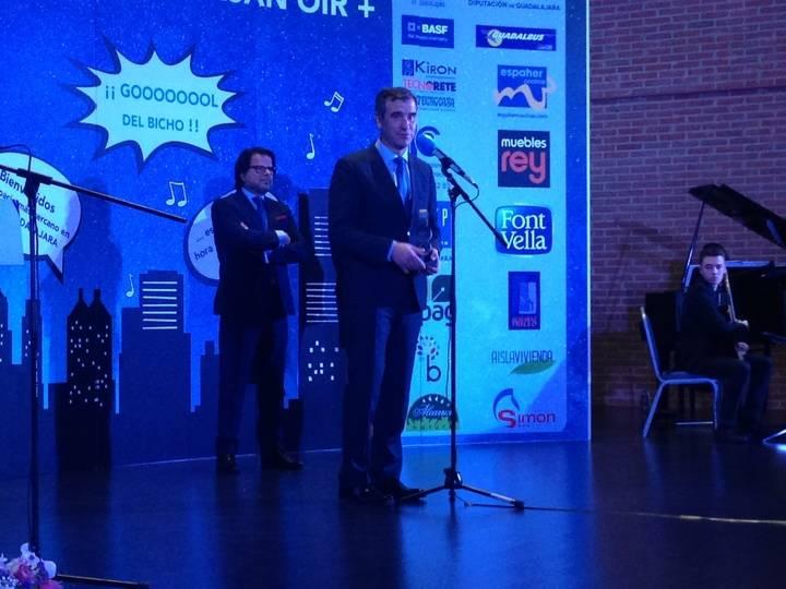 El ayuntamiento de Guadalajara recibe uno de los Premio Cope por ser Ciudad Europea del Deporte 2018