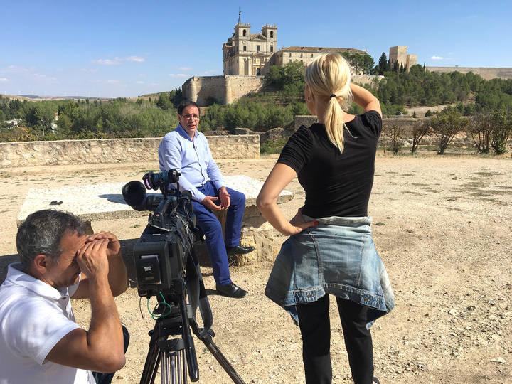 Un equipo de América Tevé promocionará la provincia de Cuenca en Estados Unidos
