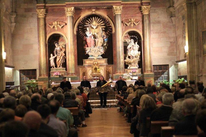 Spanish Brass pone el broche musical a la exposición 'Cisneros, de Gonzalo a Francisco'