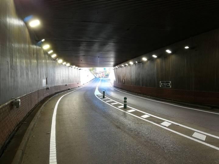 El túnel de Aguas Vivas se reabre tras una semana de mejoras