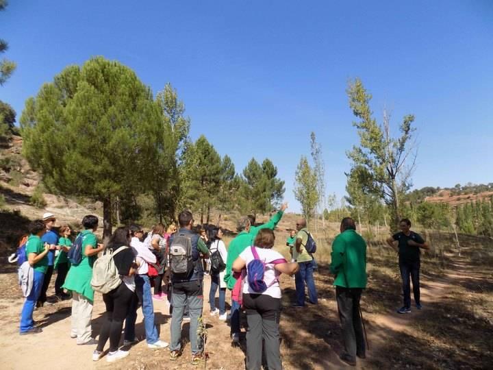 El Taller de Empleo 'Sierra Ministra' forma en Sigüenza a ocho personas en Ecoturismo