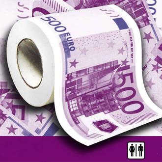 Intrigante misterio : Descubren váteres suizos atascados con billetes de 500 euros