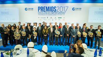 Los Premios Excelencia Empresarial 2017 congregaron a más de medio millar de personas