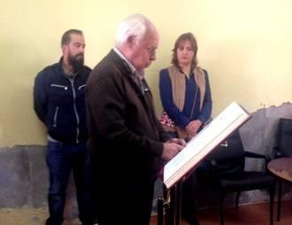 Ángel Gorro toma posesión como nuevo alcalde de Mandayona