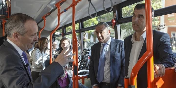 Los autobuses más modernos y con menos emisiones llegan a Guadalajara