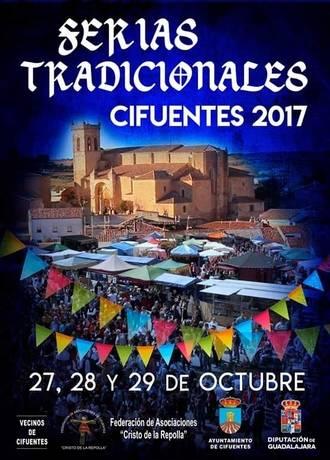 Cifuentes celebra, del 27 al 29 de octubre, sus Ferias Tradicionales