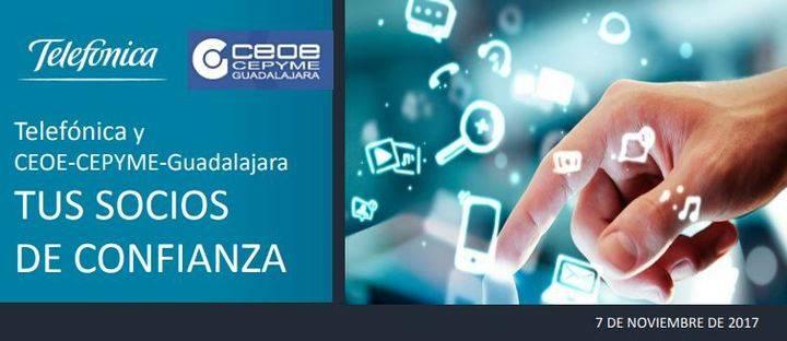 CEOE-Cepyme y Telefónica organizan en Guadalajara una jornada sobre cluod y seguridad