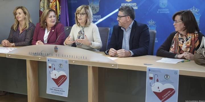 El Colegio de Enfermería de Guadalajara busca mejorar sus cifras en el II Maratón de Donación de Sangre