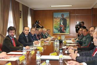 El delegado del Gobierno preside la Comisión de Coordinación sobre Vialidad Invernal
