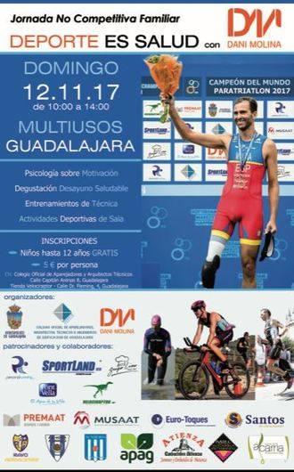 "Este domingo, jornada no competitiva ""Deporte es Salud"" con Dani Molina"