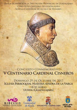 Concierto de la Banda de la Diputación, el coro Novi Cantores y la Schola de Alcalá en Uceda