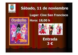 """El musical """"Trolls"""" llegará a Cifuentes el sábado 11 de noviembre"""