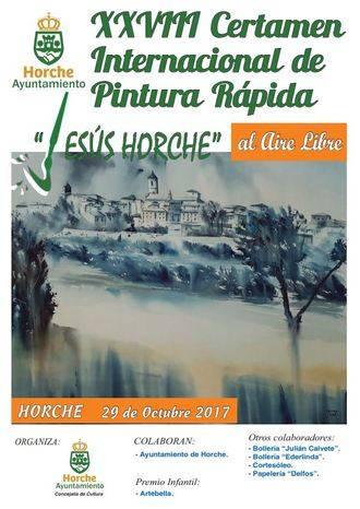 Horche repartirá 3.350 euros en premios durante su XXVIII Certamen de Pintura al Aire Libre