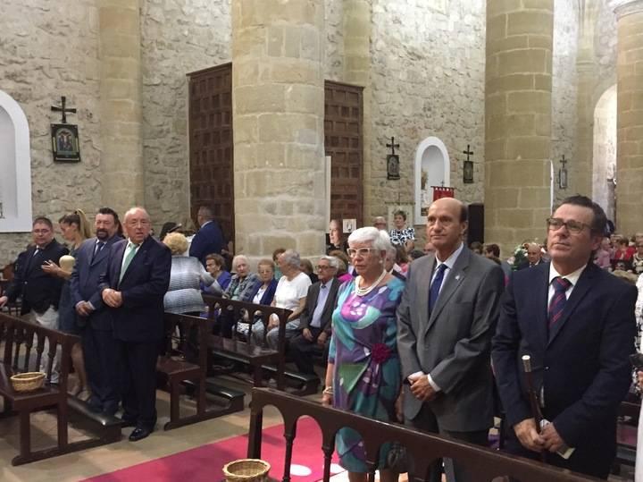 El subdelegado del Gobierno participa en la festividad de la Santa Cruz en Albalate de Zorita