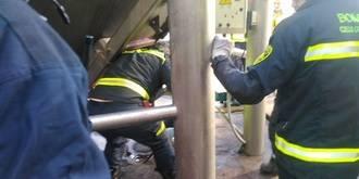 Trágico final: Fallece el trabajador que quedó atrapado en una tolva en Mondéjar