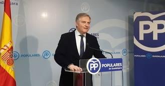 """Cañizares: """"Page, sólo ocupado en resolver sus propios 'líos', es un desastre para Castilla-La Mancha"""""""