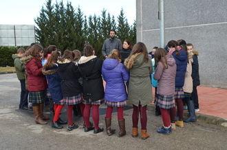 La EDAR de Guadalajara recibe visitas de grupos escolares interesados en su funcionamiento