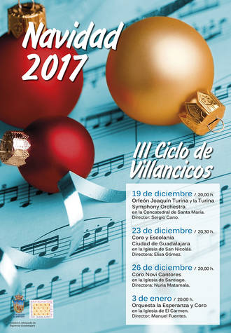 El próximo martes comienza en la Concatedral de Santa María el III Ciclo de Villancicos