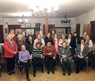 Rosa Ruiz, alcaldesa de las Aguedas almorcileñas en el vigésimo aniversario de la fiesta