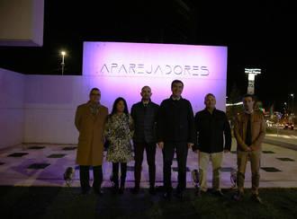 Los aparejadores de Guadalajara 'reinauguran' su rotonda con nuevos elementos en su 40º aniversario