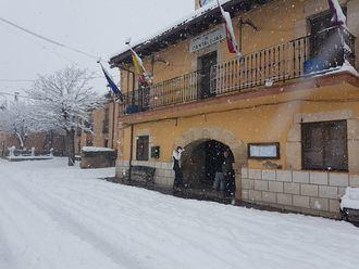 Frío, lluvia y nieve este lunes en Guadalajara que sigue en alerta por riesgo de nieve