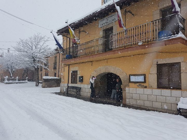 Foto : Ayuntamiento de Cantalojas este Día de Reyes