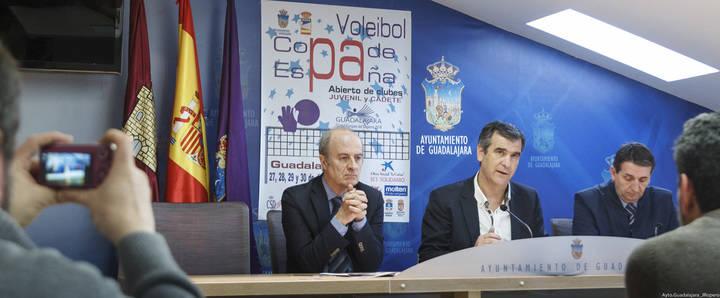 2.600 deportistas se darán cita en Guadalajara entre el 27 y el 30 de diciembre