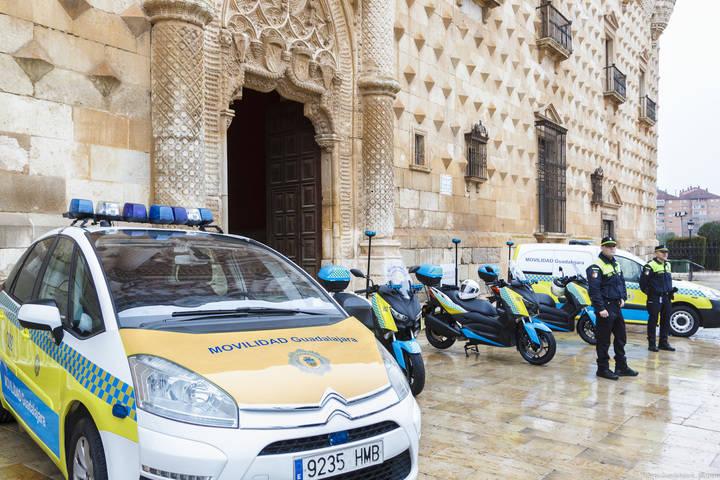 Los Agentes de Movilidad de Guadalajara disponen desde hoy de tres nuevas motocicletas