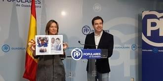 """Guarinos: """"2017 ha sido un año de fracasos, decepción y engaño permanente a Guadalajara por parte del bipartito Page-Podemos"""""""