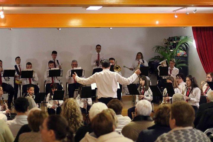 La Banda de Fuentenovilla interpretó su tradicional concierto de Santa Cecilia