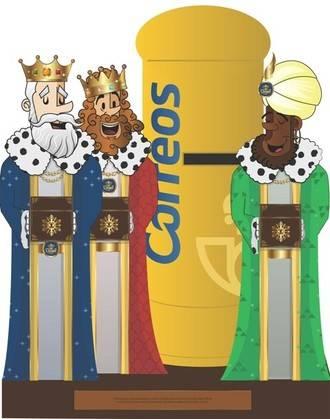 Hasta el 5 de enero los niños podrán enviar sus cartas a los Reyes Magos en más de 900 buzones especiales que ha preparado Correos