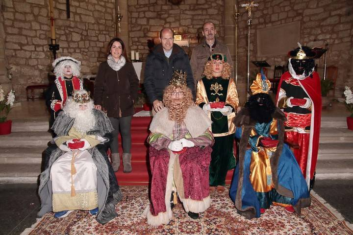 Los Reyes Magos han visitado esta tarde, y volverán a hacerlo mañana, La Alcarria parejana