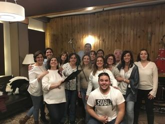 Los coros de la Escuela Municipal de Música de Cabanillas graban un disco