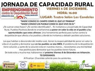 Psicología contra la despoblación: Arbancón acoge el próximo viernes una jornada de capacidad rural