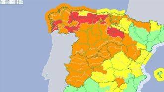 Castilla La Mancha activa el Plan de Emergencias (Meteocam) ante la previsión de fuertes vientos