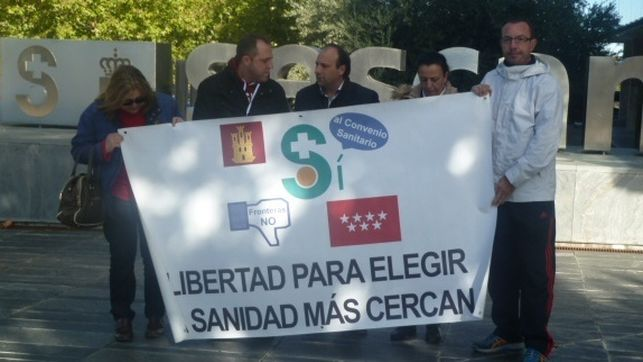 """Denuncian el """"grave perjuicio"""" que está ocasionando la paralización del convenio sanitario con Madrid"""