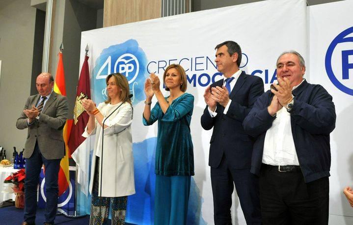 Cospedal asegura en Guadalajara que el PP volverá a gobernar en la región para devolver la esperanza a los castellano-manchegos