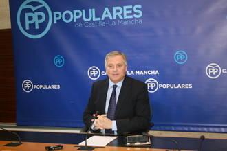 """Cañizares: """"Con Page y Podemos Castilla-La Mancha tiene un Gobierno paralizado e incapaz de solucionar los problemas"""""""