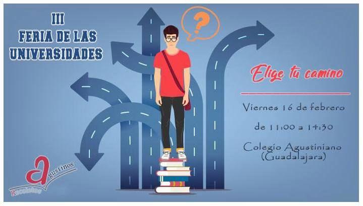 Los Agustinos de Guadalajara celebrarán su III Feria de las Universidades