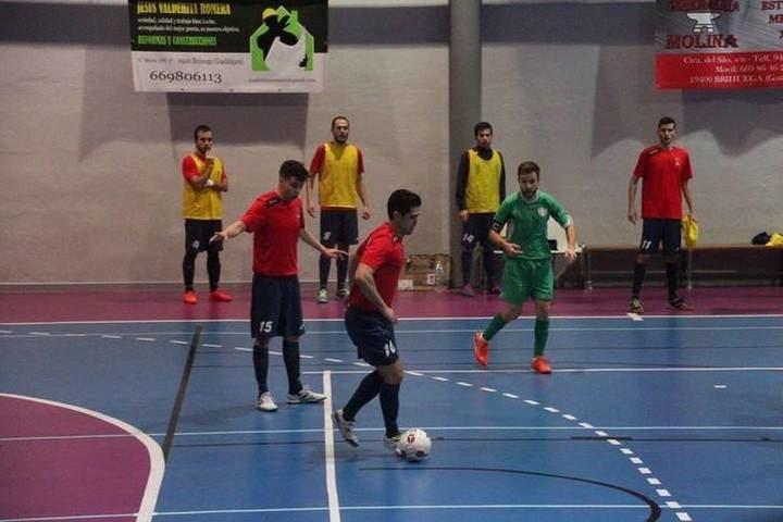 El Deportivo Brihuega comienza el año goleando