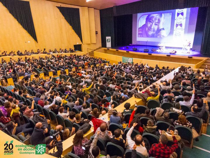 XX Gala de Premios de Medio Ambiente de Ecologistas en Acción de Guadalajara.
