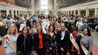 600 mujeres participan en el IX Encuentro Nacional de Encaje de Bolillo y Bordados
