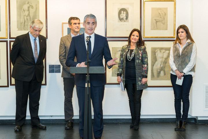 """La Fundación Ibercaja inauguró en Guadalajara la exposición """"Francisco de Goya y la Academia de Bellas Artes de San Luis"""""""