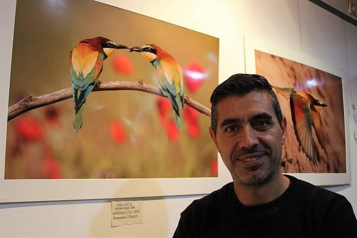 David Jerez detiene el tiempo en la muestrafotográfica 'Yebes 100% natural' de la Sala de Arte de Valdeluz