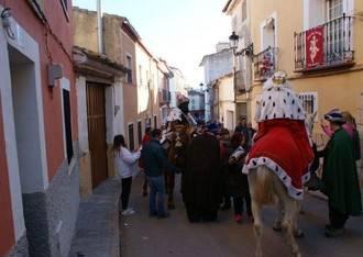 Los Reyes Magos irán de casa en casa entregando regalos por Sacedón el próximo 6 de enero
