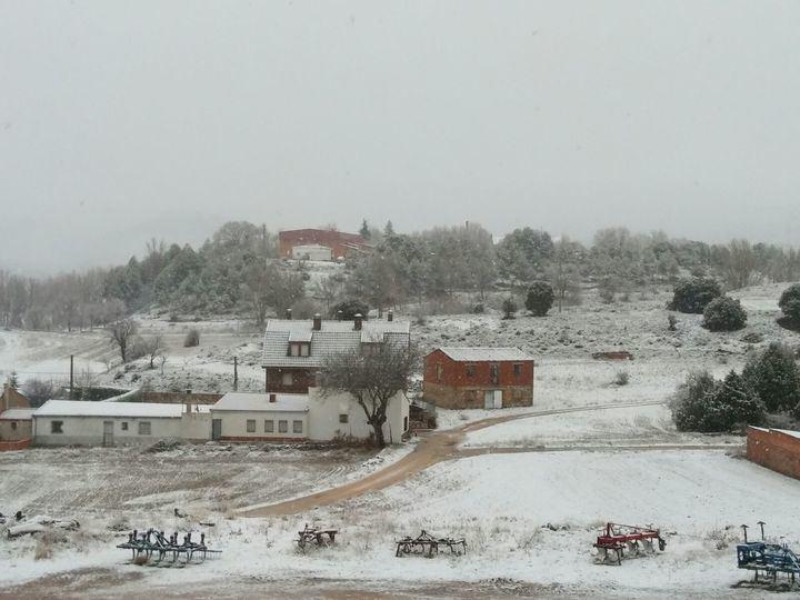 Seis rutas escolares y 48 alumnos afectados por la nieve en la provincia de Guadalajara
