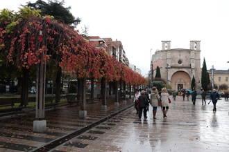 Lluvia y viento este domingo en Guadalajara donde durante todo el día habrá un ambiente desapacible