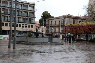 Lluvia y frío este sábado en Guadalajara donde la temperaturas no llegará a los 7ºC